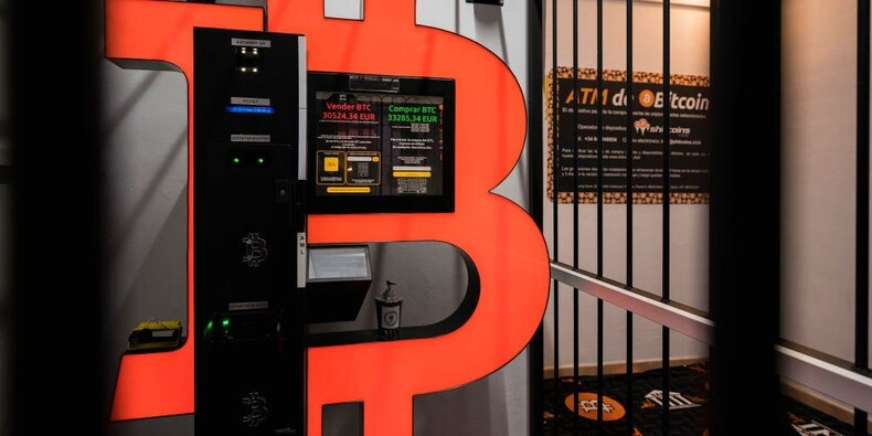 Bitcoin drops from record-high of nearly $50,000 after a week of increased attention on Wall Street