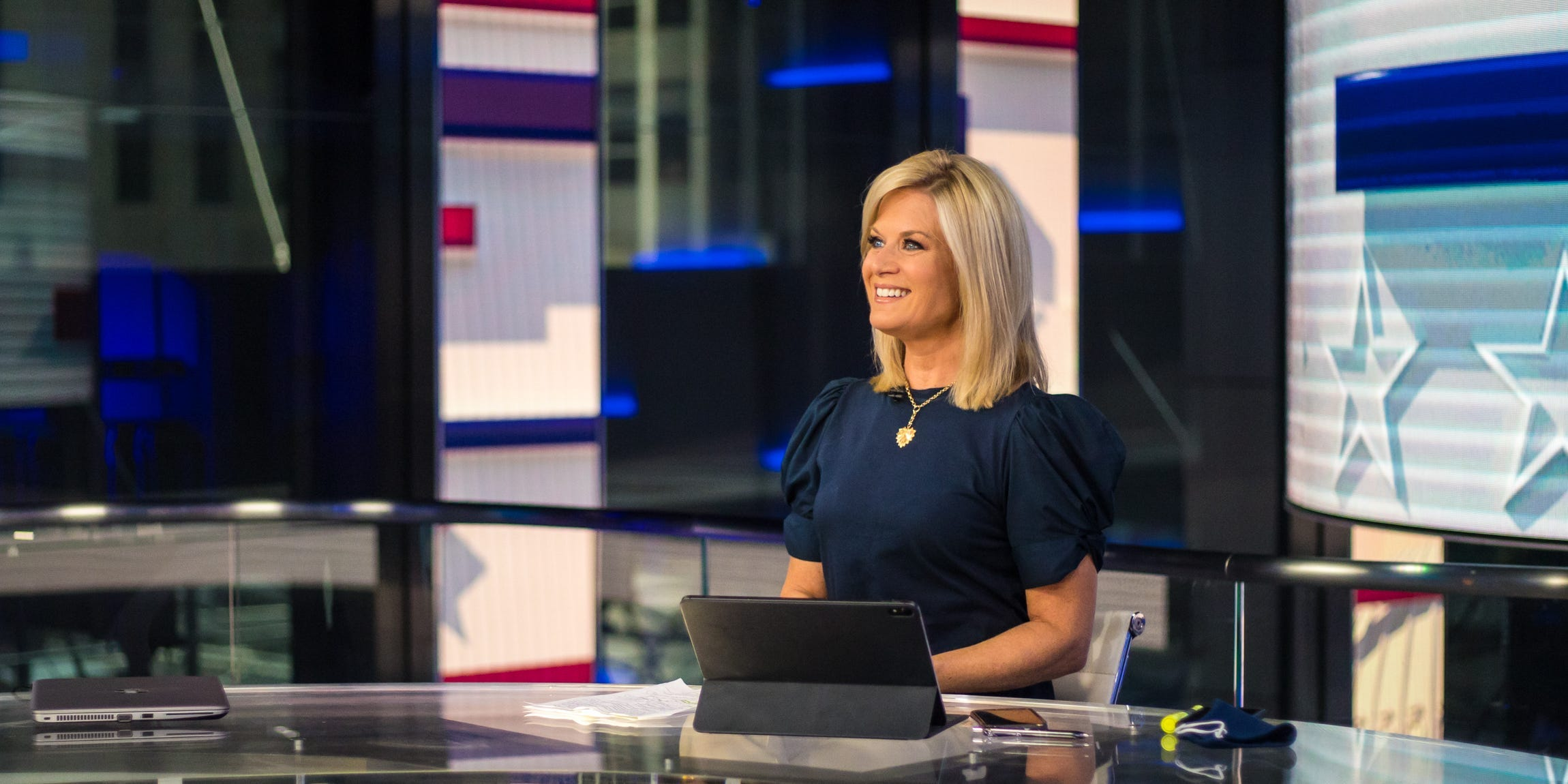 Fox News anchor Martha MacCallum on her daily routine and how she balances her personal life with being on TV every day