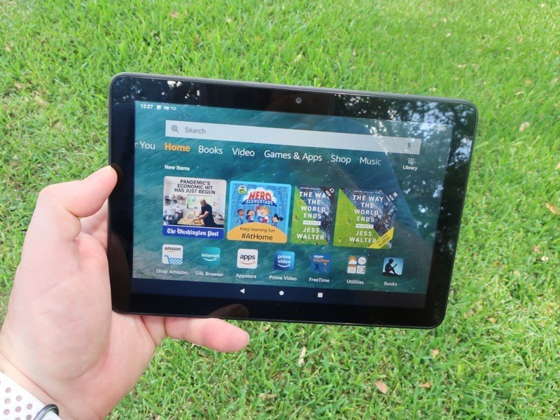How much storage do you need in an Amazon Fire Tablet?
