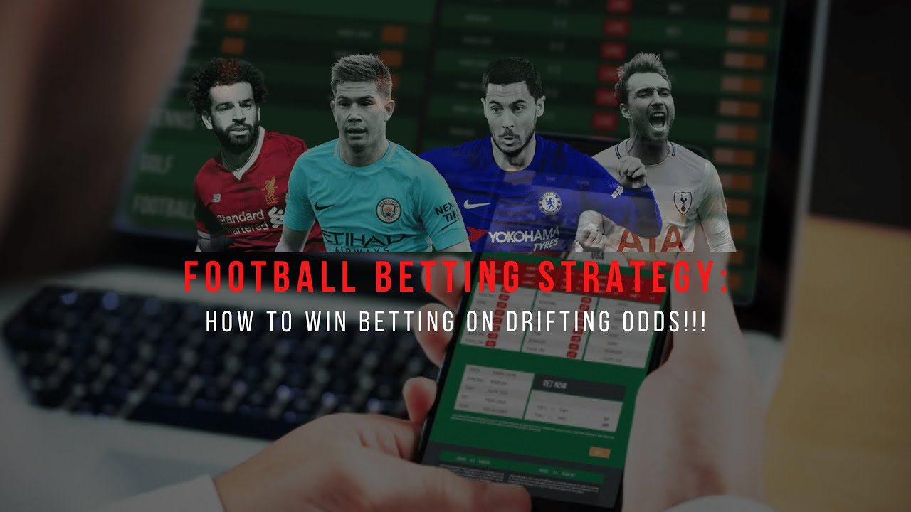 FOOTBALL BETTING STRATEGY: How To Win Betting On Drifting Odds… (Pre Match Trading)