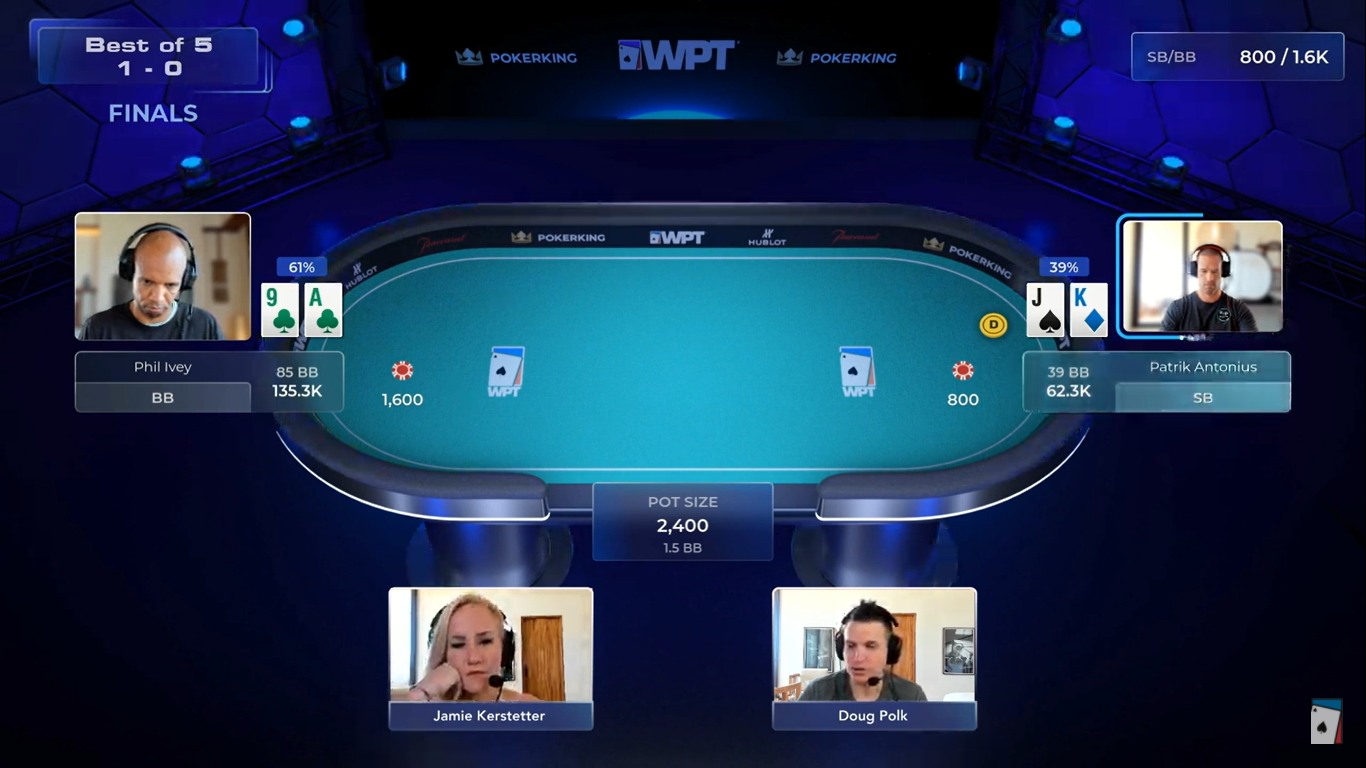 The G.O.A.T. Prevails: Phil Ivey Sweeps Patrik Antonius in WPT Heads-Up Finale