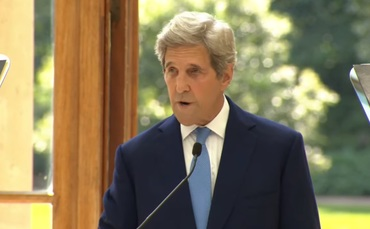 John Kerry: 'We don't have the luxury of waiting until Covid is vanquished to take up the climate challenge'