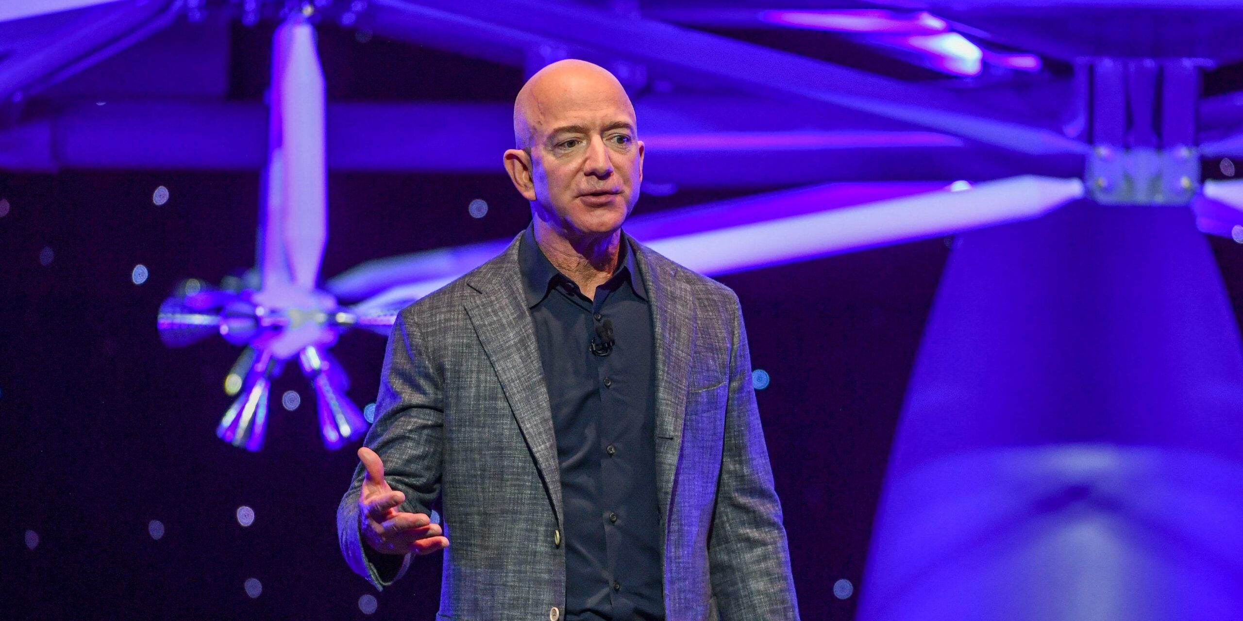 Jeff Bezos offers a vision of flying through space colonies with our own wings. But is that the best way to save the human race?