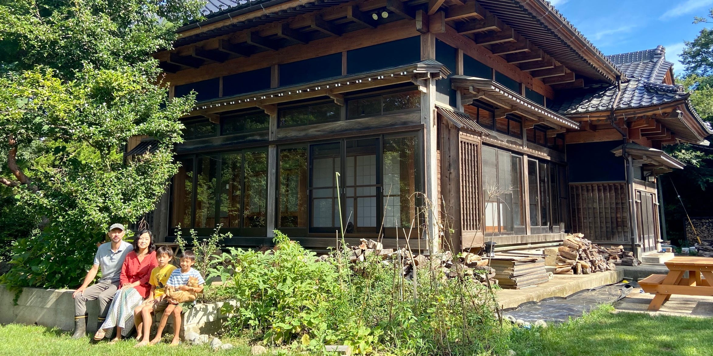 A couple bought an abandoned farmhouse in rural Japan for $30,000 and has spent 2 years renovating it. Here's how they turned it into their dream family home.
