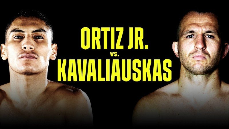 How to watch Ortiz vs Kavaliauskas online from anywhere