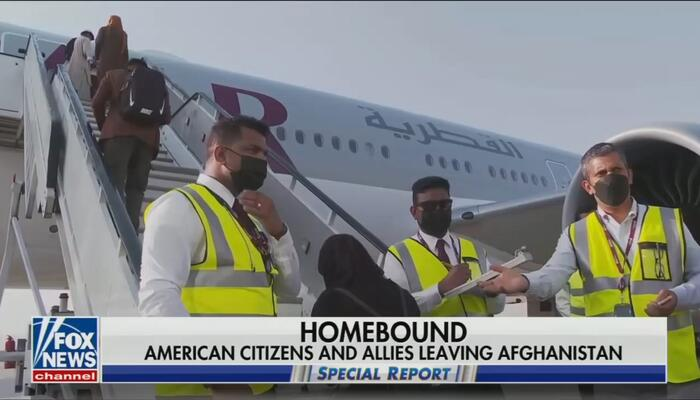 'This Story Is Not Over': Nets Ignored Americans Finally Leaving Afghanistan